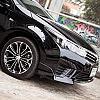 накладки на бампер by Esc in Toyota Corolla Altis ESport