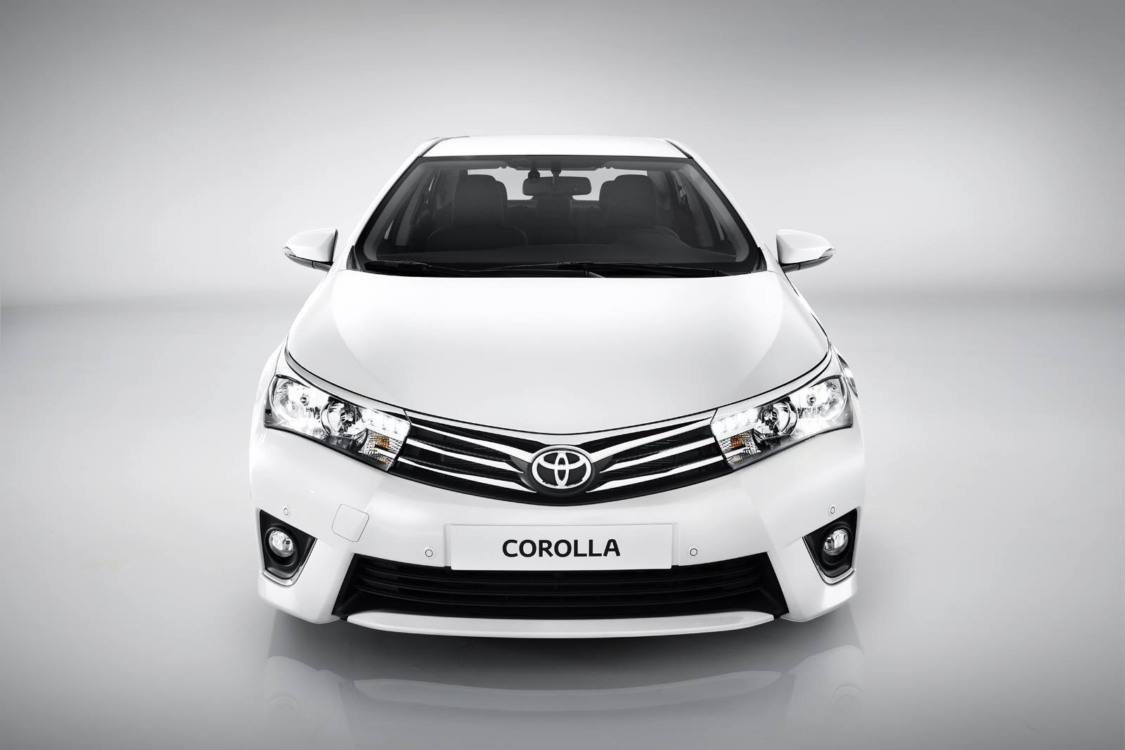 Тойота королла белый фото