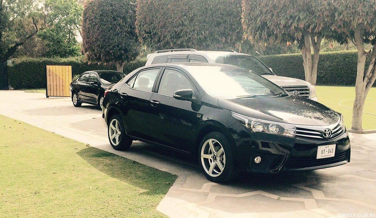Toyota Corolla  обзор цены видео технические