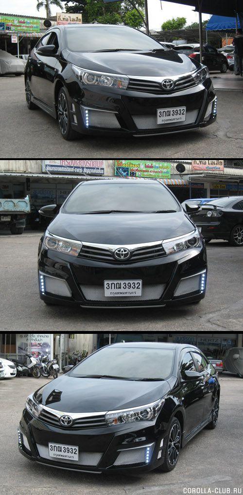 Corolla (Altis) bodykit