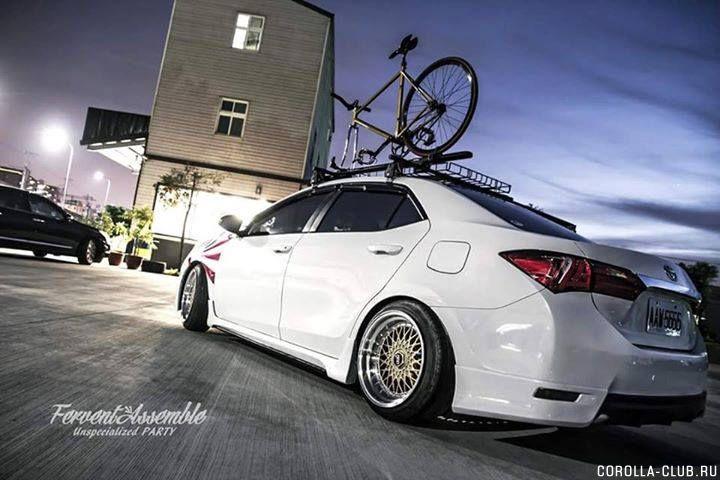 Corolla Altis  2016 tuning
