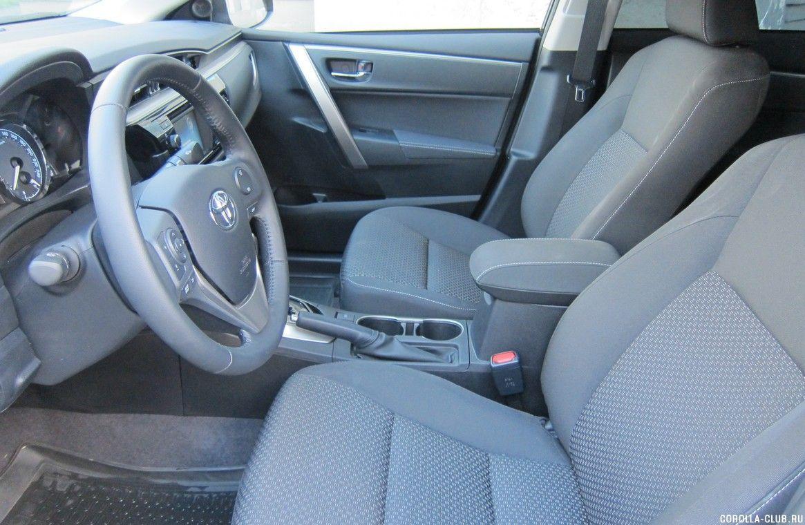 Toyota Corolla 160 салон