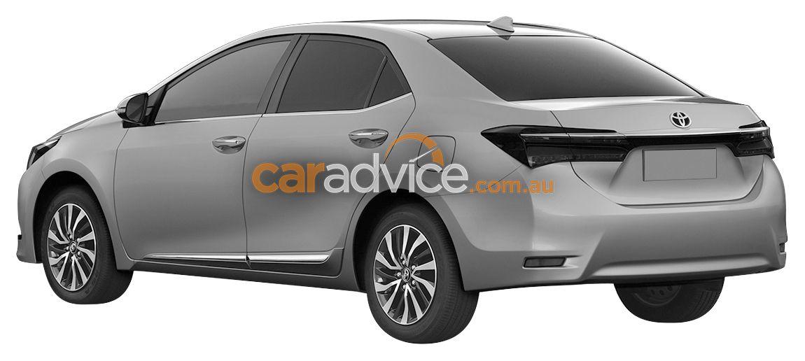 Toyota Corolla facelift 2017
