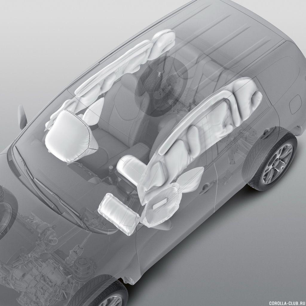 Toyota Corolla 2014 безопасность