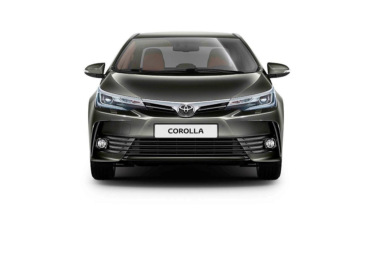 Toyota Corolla обновленная