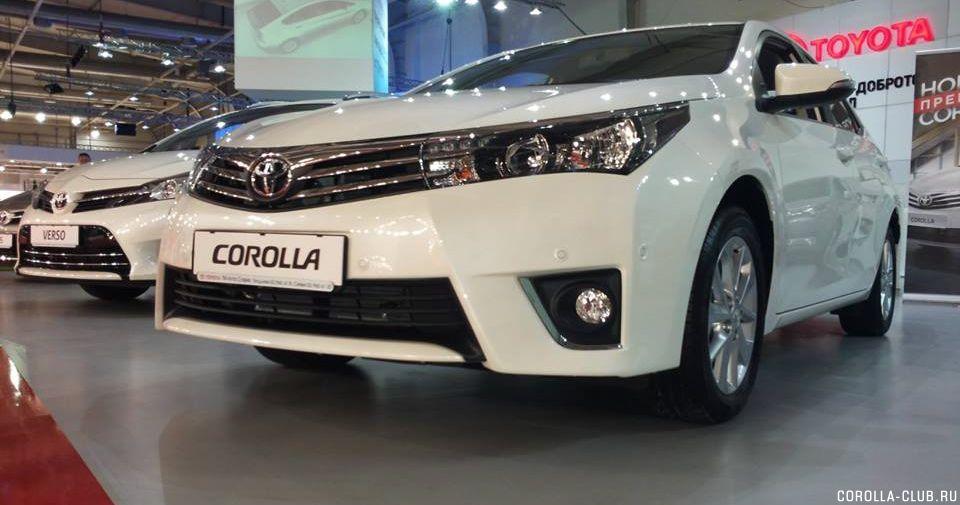 новая Corolla 11 поколение ПТФ
