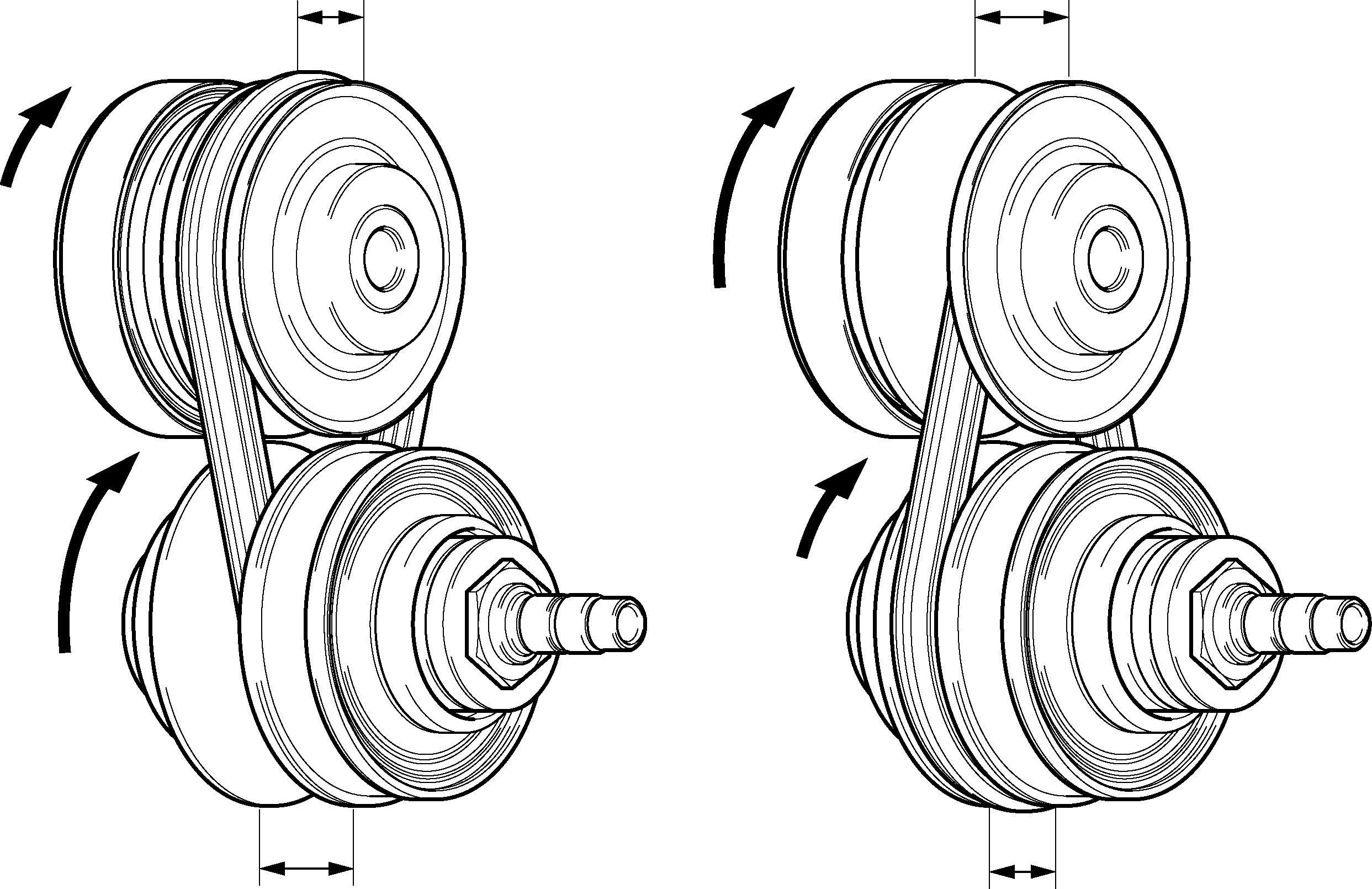 схема работы нового вариантора CVT на Toyota Corolla