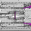 Схема днища Toyota Corolla 2014