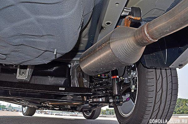 Toyota Corolla 2014 подвеска
