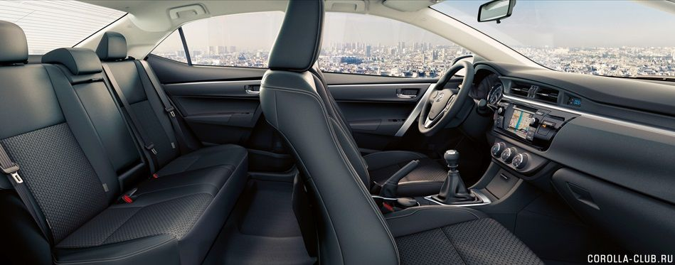 Кресла Toyota Corolla 2014