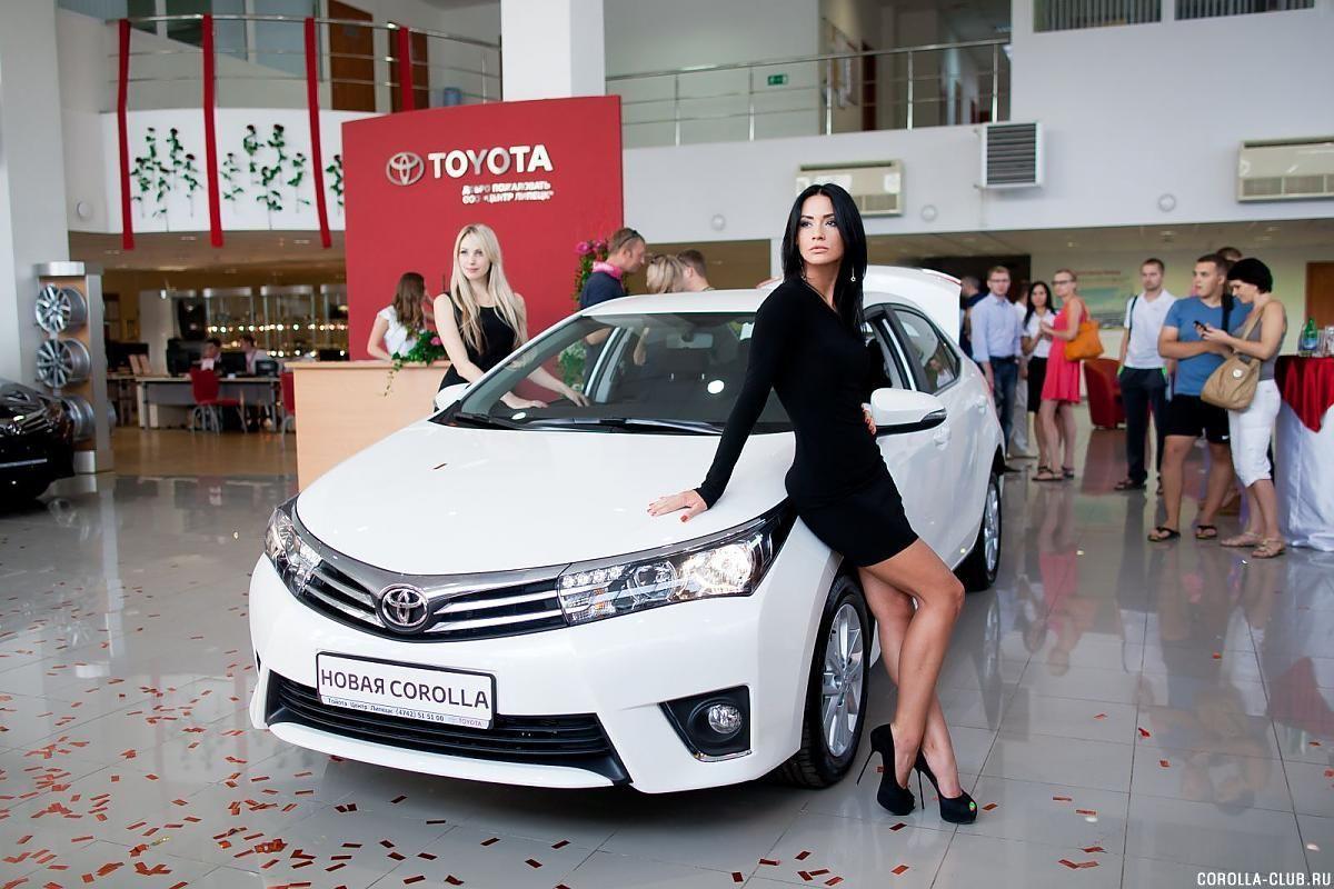 Toyota Corolla перламутр у ОД