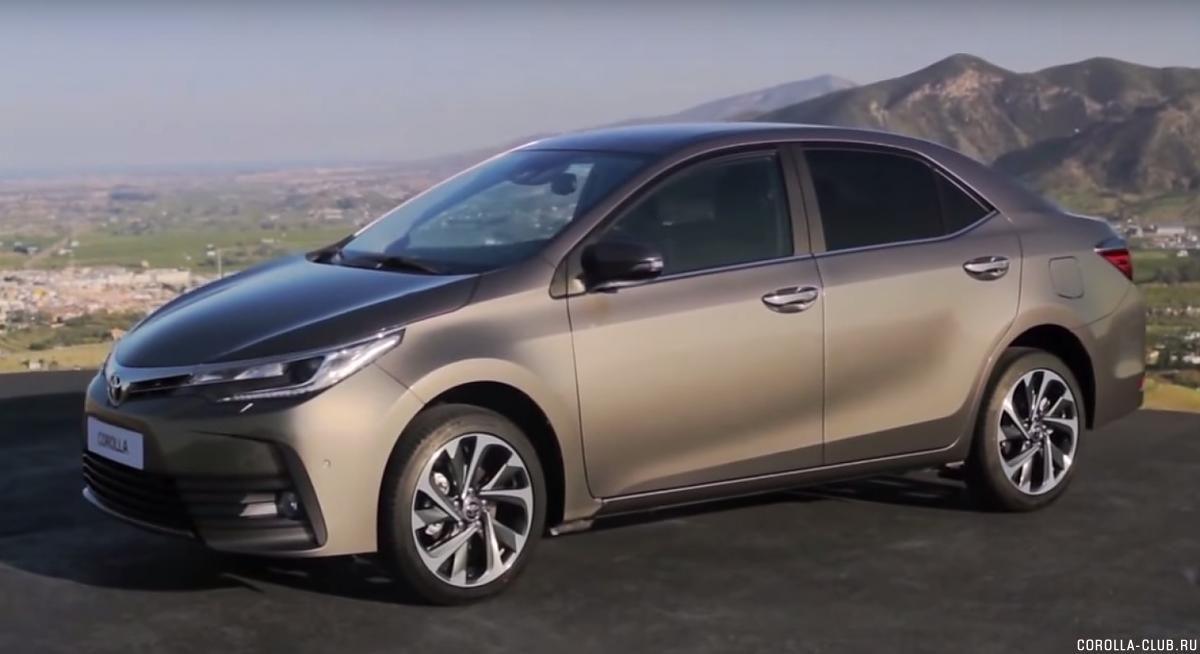 Toyota Corolla 2017 facelift