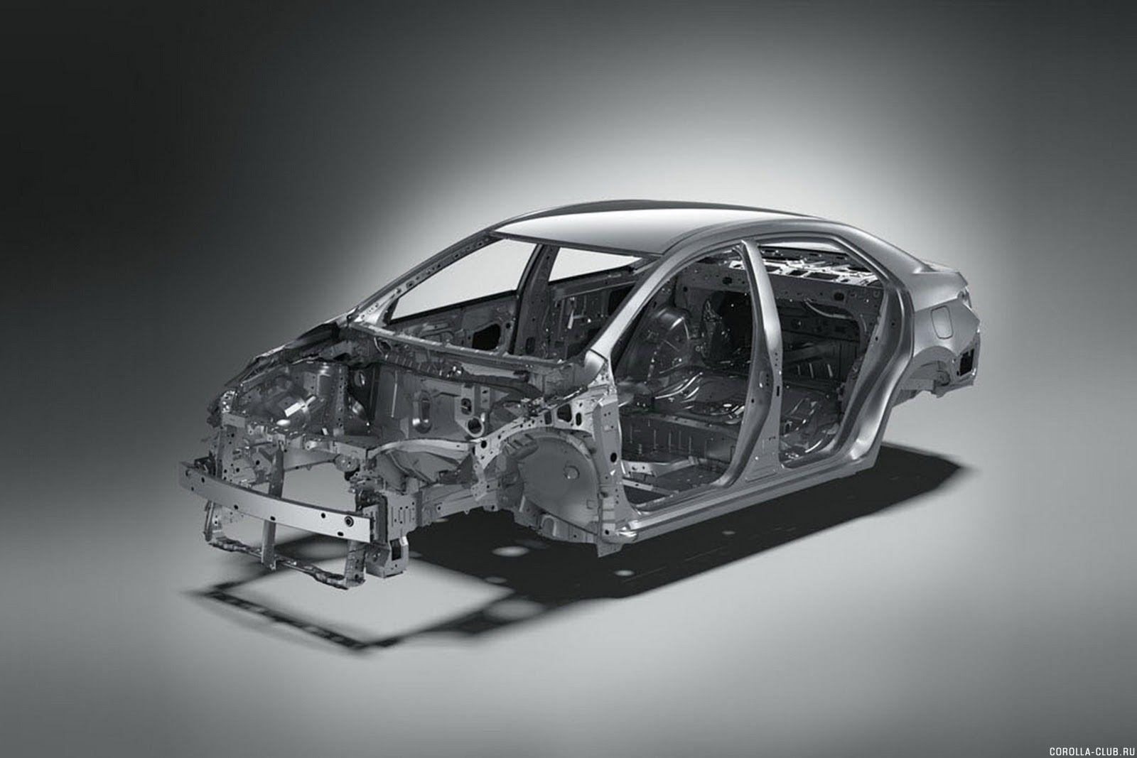 Новая Corolla кузов