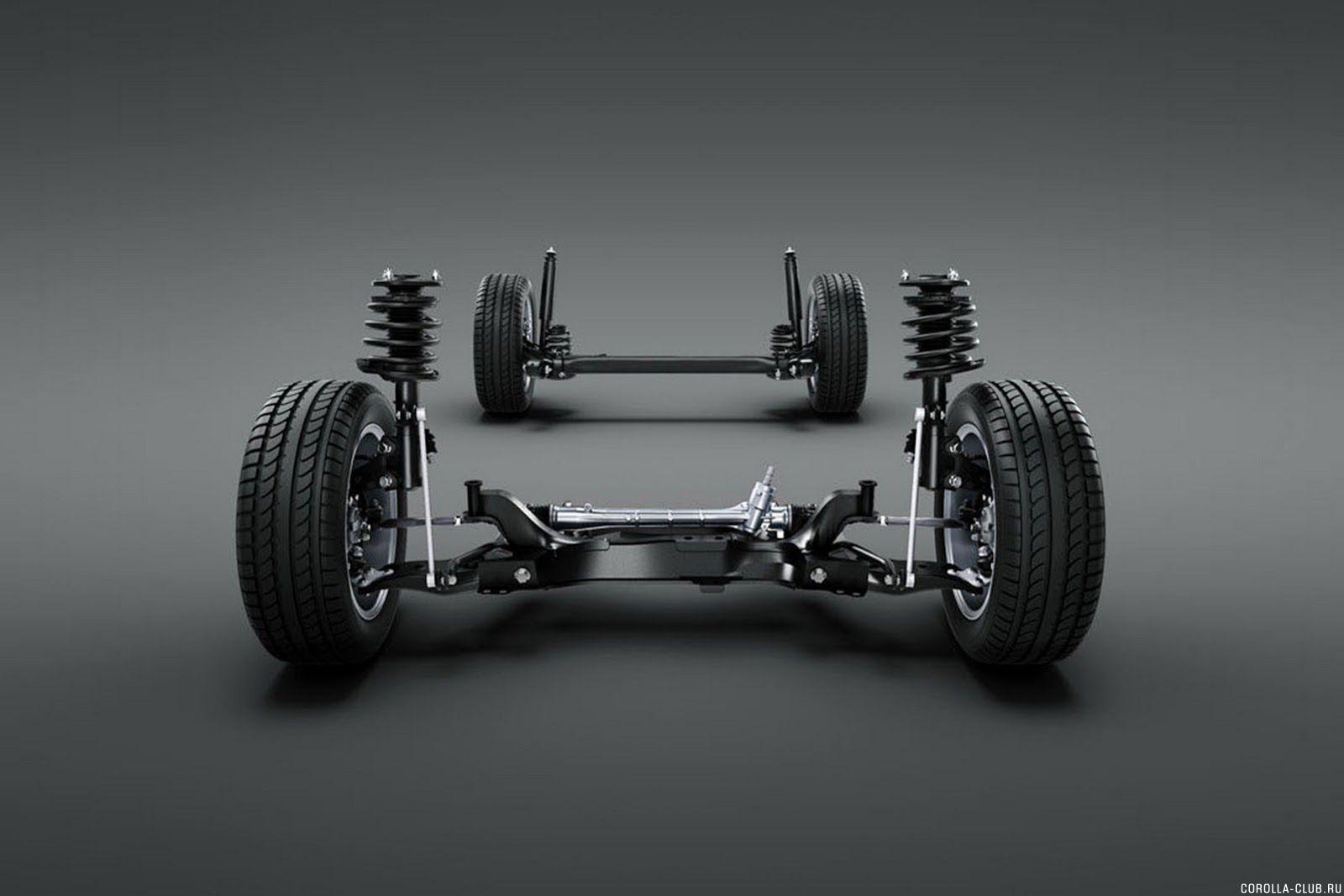 Новая Corolla подвеска