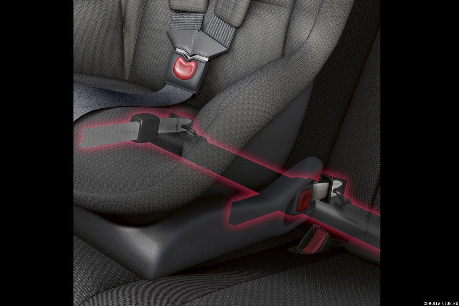 безопасность детей у Новой Corolla
