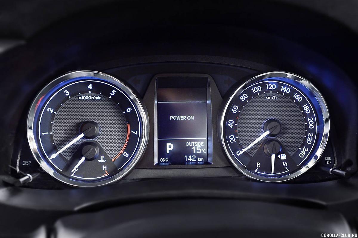 Toyota Corolla бортовой компьютер