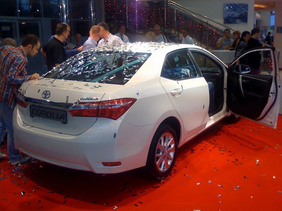 New Toyota COROLLA  в Грозном