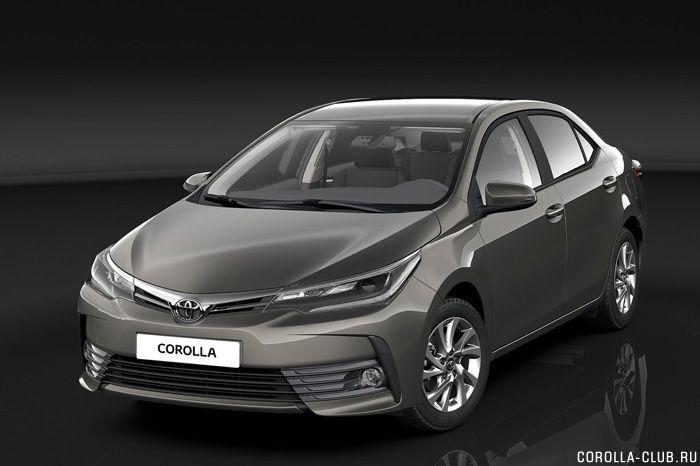 Рестайлинг Toyota Corolla